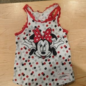 Girl's Minnie Mouse tank top - never worn